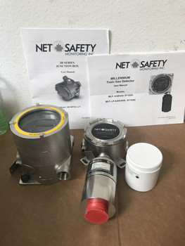 Net Safety Monitoring MLP-A-ST1200-100-SEP-SS Millenium ST2000 Gas Detector