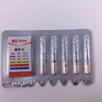Dental Endo K3 Root Canal Niti Hot Memory Files Thermal 21Mm/25Mm/28Mm 5Pcs/Kit