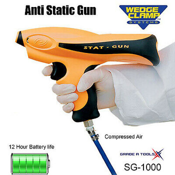 Anti-Static-Gun By Wedge Clamp Systems