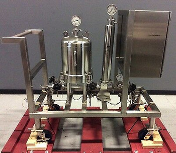 Cuno Fluid Purification W/ 12Zpb Dome 6041801 & 7022002 Housings, Chart Recorder
