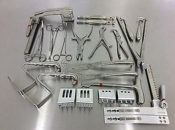 Jarit Er Open Chest Tray Complete Set W/ Jarit Sterilization Tray