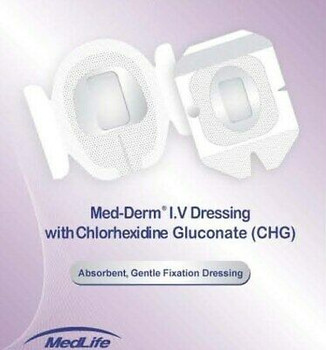 Ivsecurement Advanceddressing With Chg Size 4 X 4 3/4 In (10X12Cm)