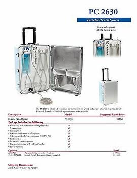 Portable Dental System 2630