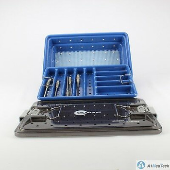 Stryker 5400-277 Core Sterilization Case with Drill Attachements