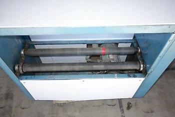 US Stoneware roller Jar Ball Mill 3/4 hp explosion proof motor 36 rubber rolls