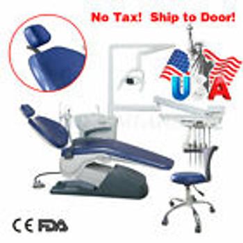 110V Tj2688 Dental Chair Unit Computer Controlled & Water Syringe Cj/Zs