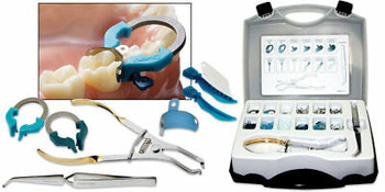 5 X Palodent V3 Dental Sectional Matrix System Designed By Triodent Intro Kit