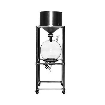 50L Lab Vacuum Suction Filter &Stainless Steel Funnel 50L Glass Receiving Flask