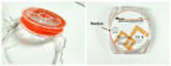 Dental Rubber Dam Stabilizing Cord Medium Orange L:2.1M X1.8Mm Latex Ztdental