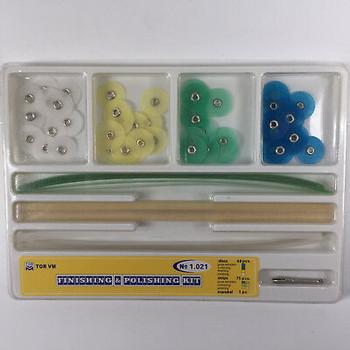 200 Boxes Tor Dental Composite Resin Finishing Polishing Discs 75 Strips+48 Disc