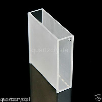 30Pcs Quartz Cuvette 40Mm,14 Ml+ 30Pcs Quartz Cuvettes 10Mm, 3.5Ml,Quartz Cells