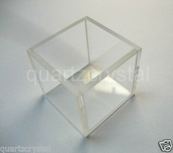 10Pcs Customized Fluorescence Glass Cuvette, Id=60Mm(W) X 85Mm(L) X 45(H) Mm+Dhl