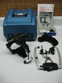 Denar Combi Semi Adjustable Dental Articulator With Slidematic Facebow