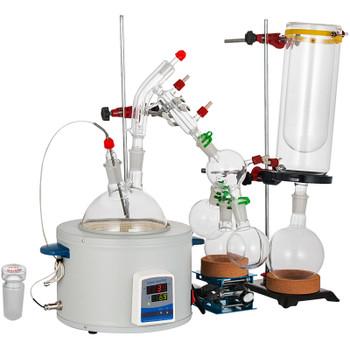 USA Lab Equipment 2000mL / 2L Short Path Distillation Kit w/Temperature Sensor
