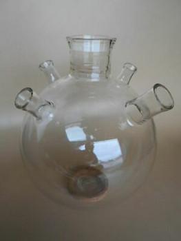 Used & Gorgeous Kontes Martin 50 Liter Round Bottom Flask