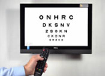 Digital Eye Chart - Nci Ocutest Silvier ( Acuity Chart) Clearchart