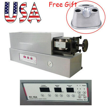 Ce Fda Dental Lab Automatic Flexible Denture Injection System Duplicating Flasks