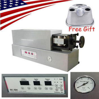 Dental Lab Automatic Flexible Denture Injection System Unit Machine Free Flasks