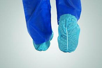 Disposable Shoe Covers Fluid Resistant Non Skid Wholesale 70 Cases 21000 Pair