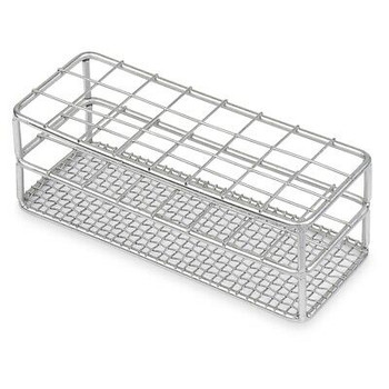 Stainless Steel Testtube Rack, Wire Constructed, 16/18Mm, 18 Places (Case 64)