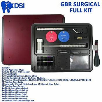 Dsi Dental Implant Gbr Guided Bone Tack Regeneration Membrane Surgical Mesh Kit