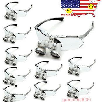 50X 3.5X 420Mm Magnification Magnifer Dental Binocular Loupes Eyeglasses Aa
