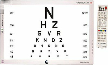 Ophthalmic Led Visual Acuity Chart 22 Led Display With Remote Control