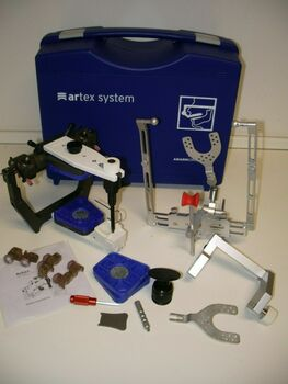 Articulator Artex-Ar+Facebow Girrbach,Dental Lab,Dentist,Sam,Panadent,Whip,Denar