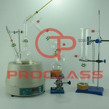 Proglass 5L Short Path Distillation Kit With Display Magnetic Heating Mantle