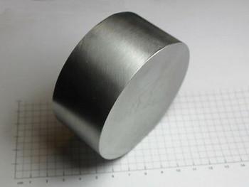 Huge Molybdenum Disc 99.95% - ˜80Mm X 38Mm - 1838 Grams