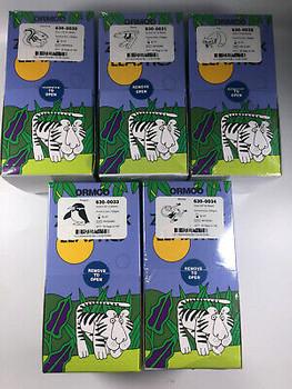 50Box Ormco Zoo Pack Dental Ortho Elastics 5000/Box 3.5Oz 1/8 3/16 1/4 5/16 3/8