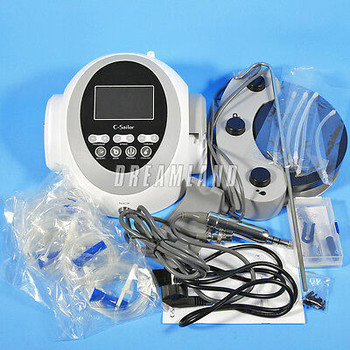Dental Lab Implant Surgical Motor System 120W + 20:1 Angle Handpiece C-Sailor Uy