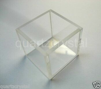 6Pcs Customized Fluorescence Glass Cuvette, Id=60Mm(W) X 85Mm(L) X 55(H) Mm +Dhl
