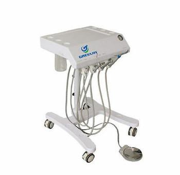 Newest Convenient Portable Dental Unit Gu-P301 With Saliva Ejector 3-Way Syringe