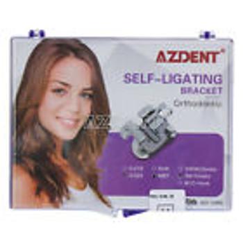 20Pzas/Kit Soporte Dental Auto Ligante De Ortodoncia Frenos Mbt 0.022 3 Ganchos