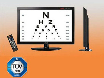 Acuity Chart System 17 Color Lcd.Vision Acuity Digital Eye Chart 17Color Ehs1