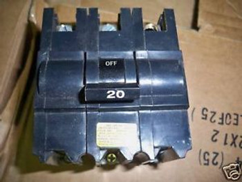 FPE Circuit Breaker Type NB 20A 3P 240V Bolt-On Used