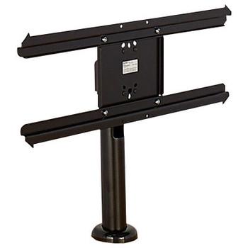 "AmpliVox SA0037 Swivel Bolt Down Table Monitor Stand For 32""-55"" Monitors, Black"