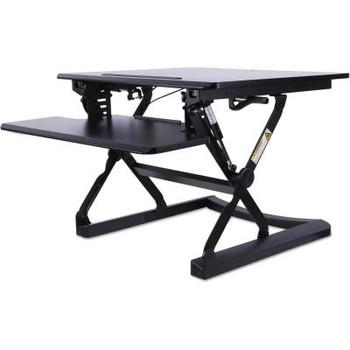 "Alera Activergo Workrise Sit-Stand Lifting Workstation, 26-3/4""W X 31""D X 19-5/8""H, Black"