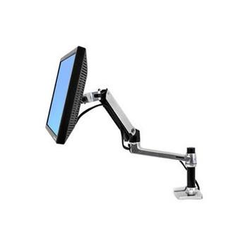 Ergotron Lx Desk Monitor Arm, Polished Aluminum