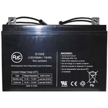 Ajc- 21St Century 1Cp1Fl 12V 100Ah Wheelchair Battery