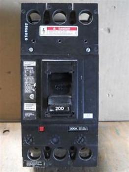ITE (FJ62B200) 2 Pole 200 Amp Circuit Breaker, Used/Cleaned/Tested