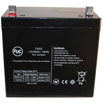 AJC- Meyra 1.594 Champ 12V 55Ah Scooter Battery