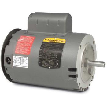 Baldor-Reliance Pump Motor, Vl1205A, 1 Phase, 0.33 Hp, 115/230 Volts, 3450 Rpm, 60 Hz, Open, 56C