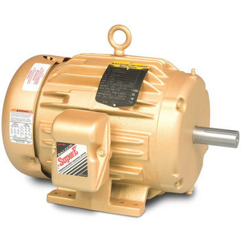 Baldor-Reliance Hvac Motor, Em4106T-G, 3 Ph, 20 Hp, 230/460 V, 3600 Rpm, Tefc, 256T Frame