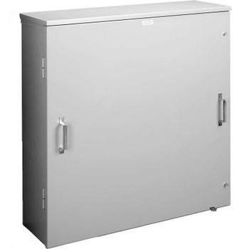 Hoffman A203012BGECT, Ct Enclosure /Vented Double Door, 20.00X30.00X12.00, Galvanized/Paint