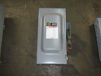 1 pc Square D Bus Plug Disconnect, H362, Used