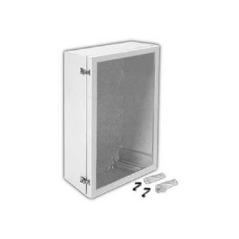 "ANB1208PLFPHA ARIA 12"" X 8"" Non-Metallic Enclosure/Bonded Window/Padlockable Latch Enclosures"