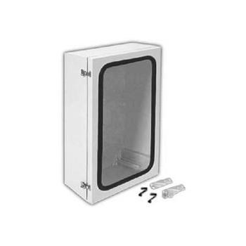 "ANG1208PLFPHA ARIA 12"" X 8"" Non-Metallic Enclosure/Gasket Window/Padlockable Latch Enclosures"