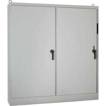 Hoffman A72XM4018FTCLP, Heavy Duty Fs Disc. Encl, W/O Panel, 1 Door, 72.12X40.25X18.12, Paint